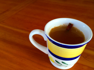 hot apple lemon ginger cider | sweetsaltcrunch.com