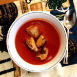 tomato soup + grilled cheese | sweetsaltcrunch.com