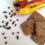 espresso chocolate chip shortbread | sweetsaltcrunch.com