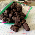 chocolate covered gummy bears | sweetsaltcrunch.com